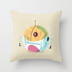 :::Mini Robot-Sfera2::: Throw Pillow