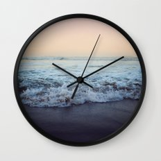 Crash into Me Wall Clock