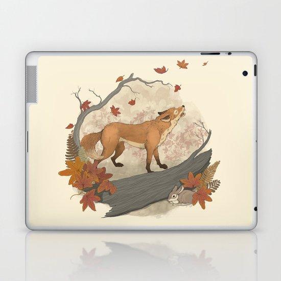 Fox and rabbit Laptop & iPad Skin
