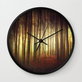 passage into the light Wall Clock