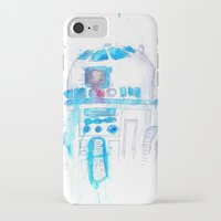 r2d2 iPhone & iPod Cases featuring R2D2 by sooarts