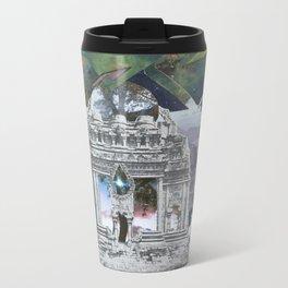 Cosmic Temple Metal Travel Mug