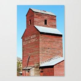 Montana Grain Elevator Canvas Print