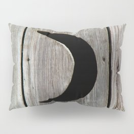 Outhouse Moon Pillow Sham
