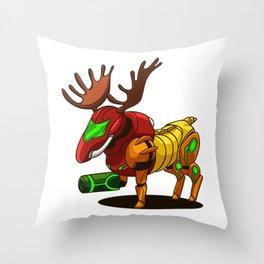Samoose Throw Pillow
