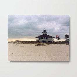 Lighthouse, Gasparilla Island Metal Print