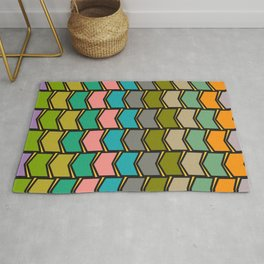 Decor in shapes and colors Rug