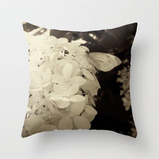 Petal Wings Throw Pillow
