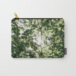 Detail of tree leaves Carry-All Pouch