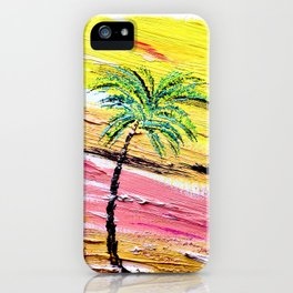 Desert Palm #2 Painting iPhone Case