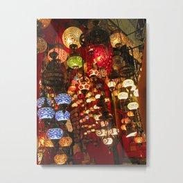 Turkish Grand Bazaar Metal Print