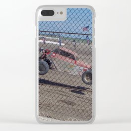 Flying Food Clear iPhone Case