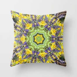 Lace Crown Throw Pillow