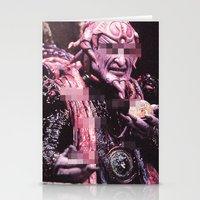danny ivan Stationery Cards featuring IVAN OOZE by HelloWolfgang