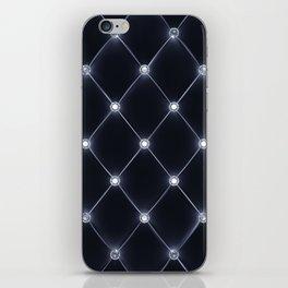 Velvet upholstery pattern iPhone Skin