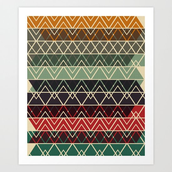 Fun Stack Art Print