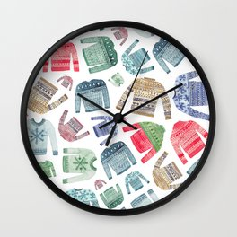 Christmas Jumpers! Wall Clock