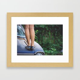 TOMS Framed Art Print