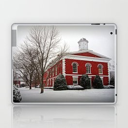 Iron County Courthouse in the Snow Laptop & iPad Skin