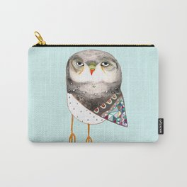 Owl by Ashley Percival Carry-All Pouch