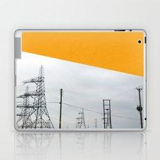 Orange Pylons Laptop & iPad Skin