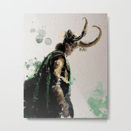 Loki Metal Print