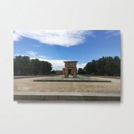 Madrid, Spain - Temple of Debod Metal Print