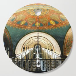 Art Deco Fisher Building Downtown Detroit Cutting Board