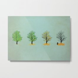 the death of tree Metal Print
