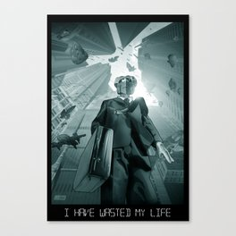 I Have Wasted My Life Canvas Print