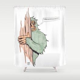 Bigfoote Shower Curtain