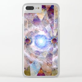 Space Odyssey - Milky Way Clear iPhone Case