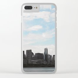 City Swept Clear iPhone Case