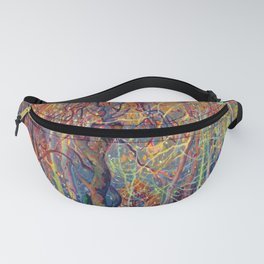 Franklin Carmichael Silvery Tangle Fanny Pack