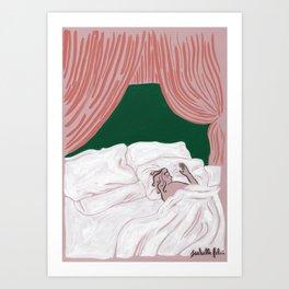 Sleeping In Art Print