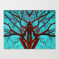 Can you believe what life can come from a tree? Canvas Print