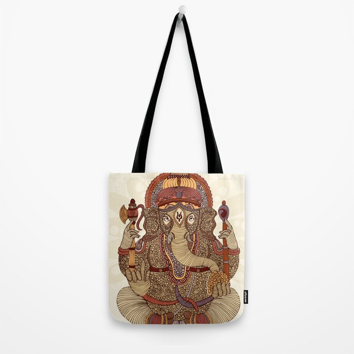 Ganesha: Lord of Success Tote Bag