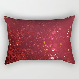 Background Color Marsala Rectangular Pillow