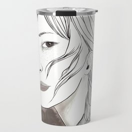 Don't look Travel Mug