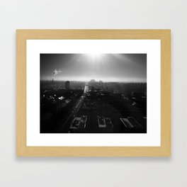 Vint B&W – Stockholm Framed Art Print