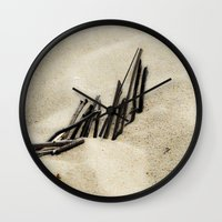 dune Wall Clocks featuring Dune by Mario Sa