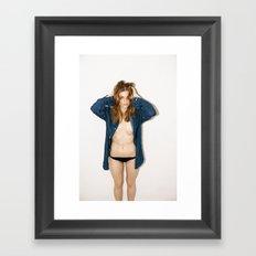 Confusion is a Luxury Which only the Very Young can Possibly Afford Framed Art Print