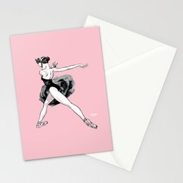 Black swan CoolNoodle Stationery Cards