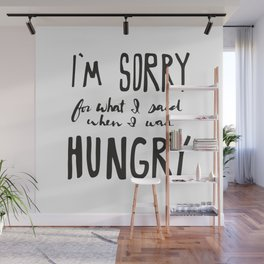 Hungry Wall Mural