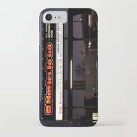 movies iPhone & iPod Cases featuring Movies over here by Vorona Photography