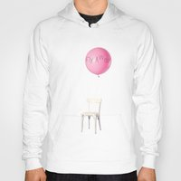 baloon Hoodies featuring Fly away by yuvalaltman