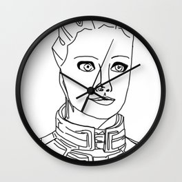 Liara T'soni Wall Clock