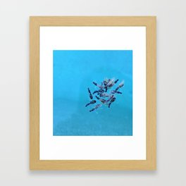 Flying Ants Swimming Lessons Framed Art Print
