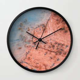 Coast Clash Wall Clock