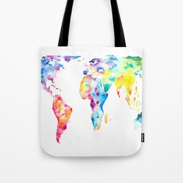 Gall–Peters projection Tote Bag